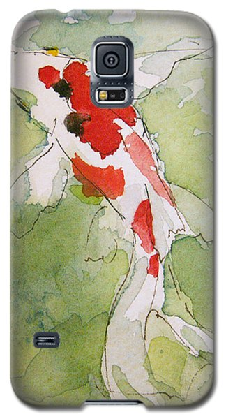 Colorful Fantail Goldfish 3 Galaxy S5 Case by Tracie Thompson