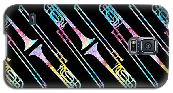 Colorwashed Trombones Galaxy S5 Case by Jenny Armitage