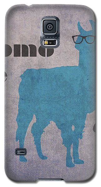 Como Te Llamas Humor Pun Poster Art Galaxy S5 Case by Design Turnpike
