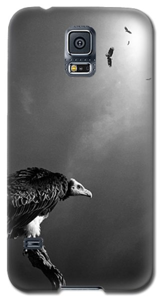 Conceptual - Vultures Awaiting Galaxy S5 Case by Johan Swanepoel