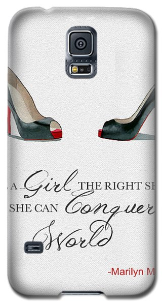 Conquer The World Galaxy S5 Case by Rebecca Jenkins