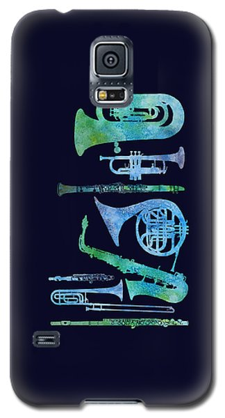 Cool Blue Band Galaxy S5 Case by Jenny Armitage