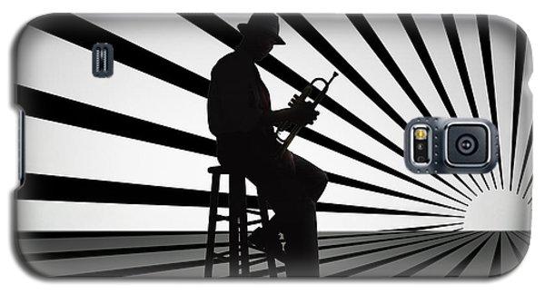 Cool Jazz 2 Galaxy S5 Case by Bedros Awak