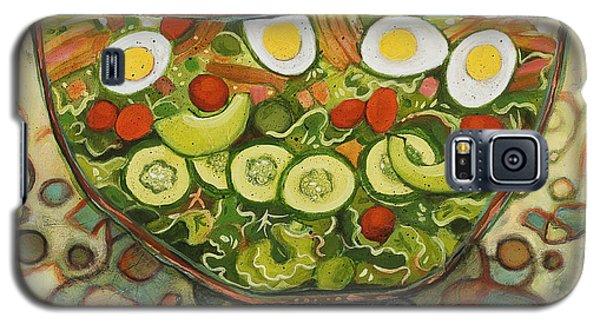 Cool Summer Salad Galaxy S5 Case by Jen Norton