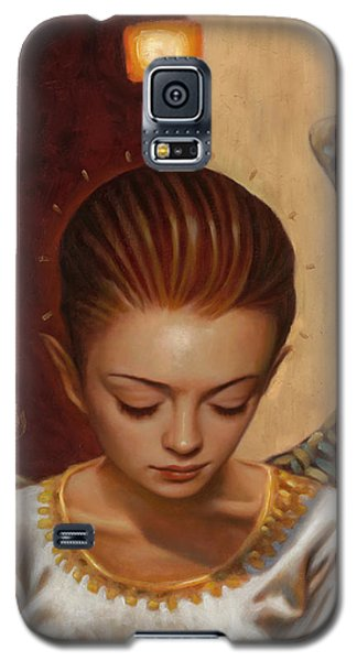 Mixed Media Galaxy S5 Cases - Coppertop Galaxy S5 Case by Vic Lee