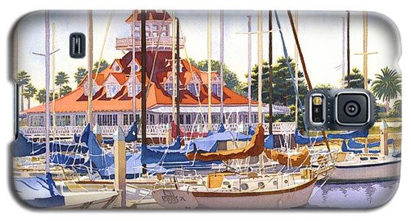 Coronado Boathouse Galaxy S5 Case by Mary Helmreich
