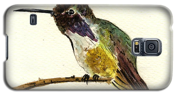 Costa S Hummingbird Galaxy S5 Case by Juan  Bosco