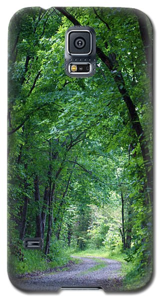 Country Lane Galaxy S5 Case by Cricket Hackmann