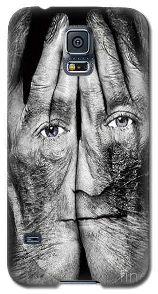 Cover Thy Faces Galaxy S5 Case by Gary Keesler