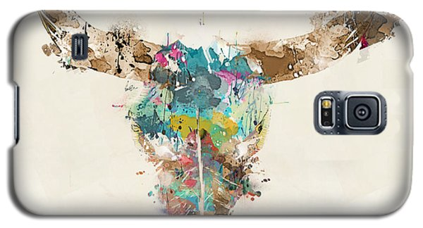 Cow Skull Galaxy S5 Case by Bri B