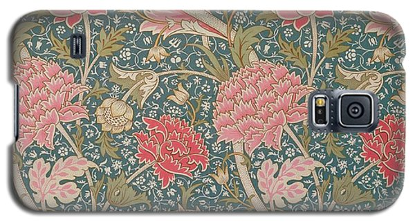 Tapestries - Textiles Galaxy S5 Cases - Cray Galaxy S5 Case by William Morris