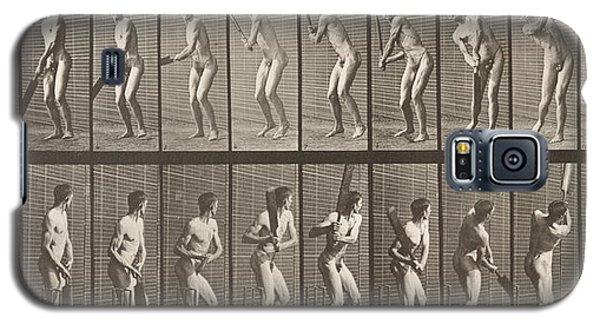 Cricketer Galaxy S5 Case by Eadweard Muybridge