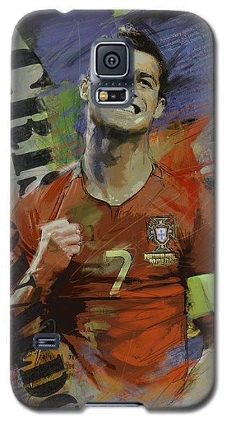 Cristiano Ronaldo - B Galaxy S5 Case by Corporate Art Task Force
