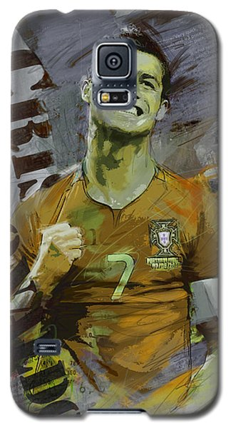 Cristiano Ronaldo Galaxy S5 Case by Corporate Art Task Force