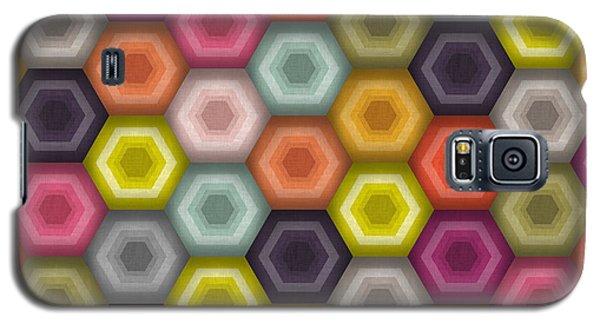 Crochet Honeycomb Galaxy S5 Case by Sharon Turner