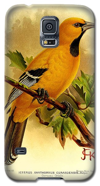 Curacao Oriole Galaxy S5 Case by J G Keulemans