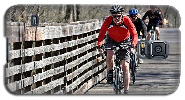 Cyclists Galaxy S5 Case by Teresa Blanton