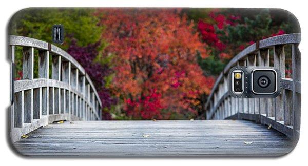 Water Galaxy S5 Cases - Cypress Bridge Galaxy S5 Case by Sebastian Musial