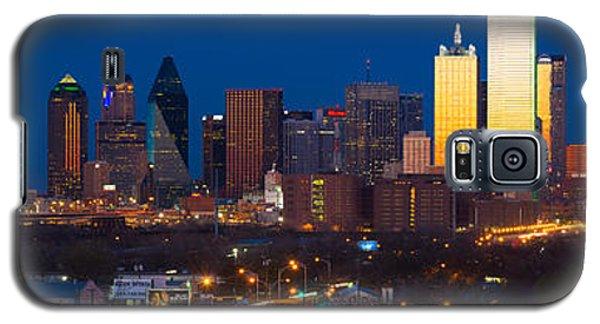 Dallas Skyline Panorama Galaxy S5 Case by Inge Johnsson