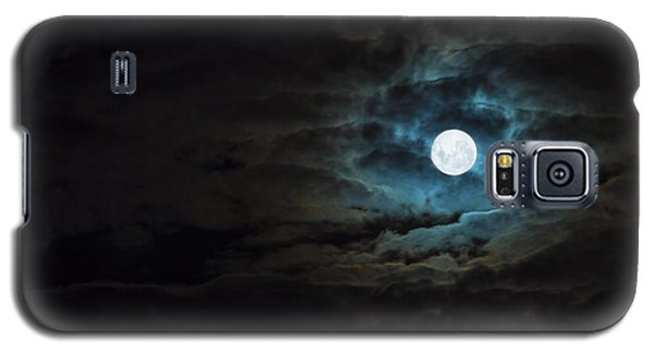 Moon Galaxy S5 Cases - Dark Rising Galaxy S5 Case by Andrew Paranavitana