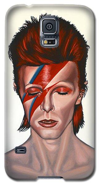 David Bowie Aladdin Sane Galaxy S5 Case by Paul Meijering