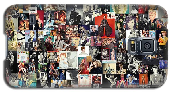 David Bowie Collage Galaxy S5 Case by Taylan Soyturk