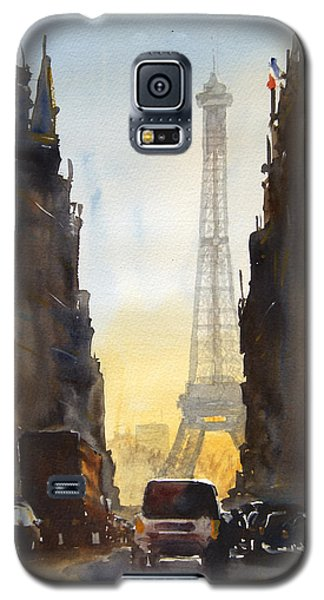 Dawn In Paris Galaxy S5 Case by James Nyika