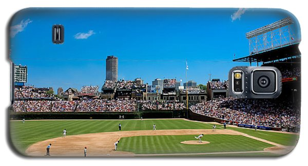 Day Game At Wrigley Field Galaxy S5 Case by Anthony Doudt