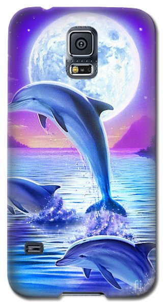 Day Of The Dolphin Galaxy S5 Case by Robin Koni