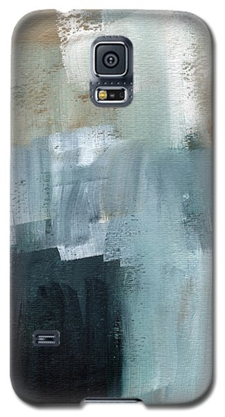Days Like This - Abstract Painting Galaxy S5 Case by Linda Woods