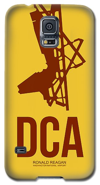 Dca Washington Airport Poster 3 Galaxy S5 Case by Naxart Studio