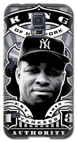 Dcla Elston Howard Kings Of New York Stamp Artwork Galaxy S5 Case by David Cook Los Angeles