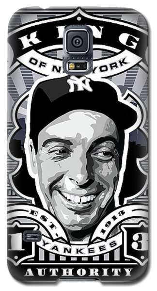 Dcla Joe Dimaggio Kings Of New York Stamp Artwork Galaxy S5 Case by David Cook Los Angeles