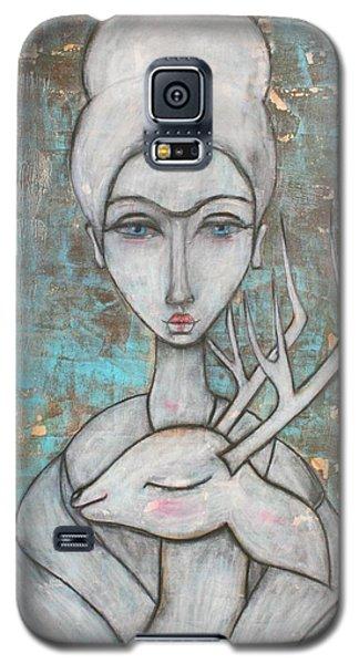 Deer Frida Galaxy S5 Case by Natalie Briney