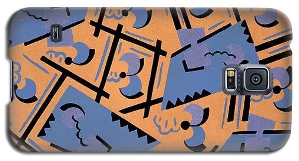 Tapestries - Textiles Galaxy S5 Cases - Design from Nouvelles compositions decoratives Galaxy S5 Case by Serge Gladky