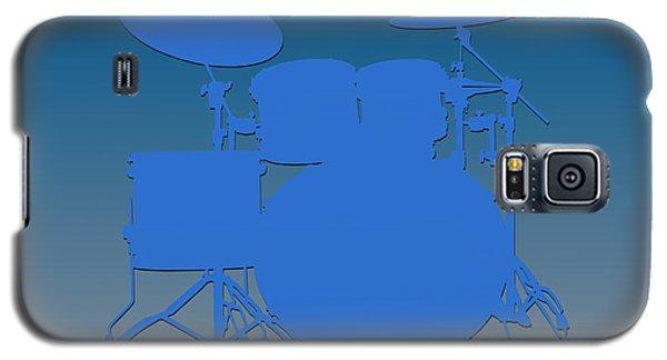 Detroit Lions Drum Set Galaxy S5 Case by Joe Hamilton