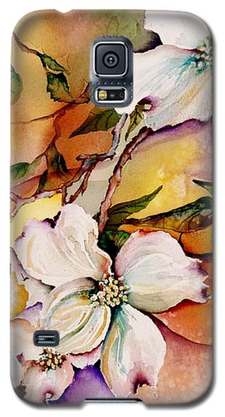 Dogwood In Spring Colors Galaxy S5 Case by Lil Taylor