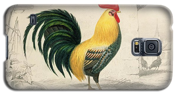 Domestic Cock Galaxy S5 Case by Edouard Travies