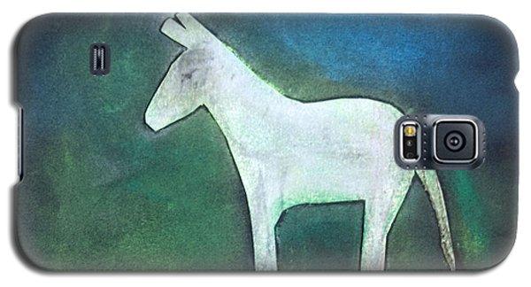 Donkey, 2011 Oil On Canvas Galaxy S5 Case by Roya Salari