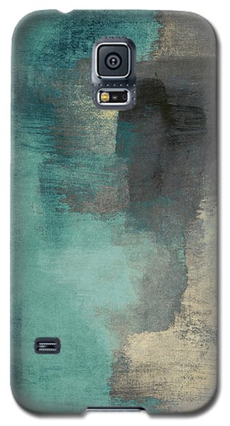 Downtown Blue Rain I Galaxy S5 Case by Lanie Loreth
