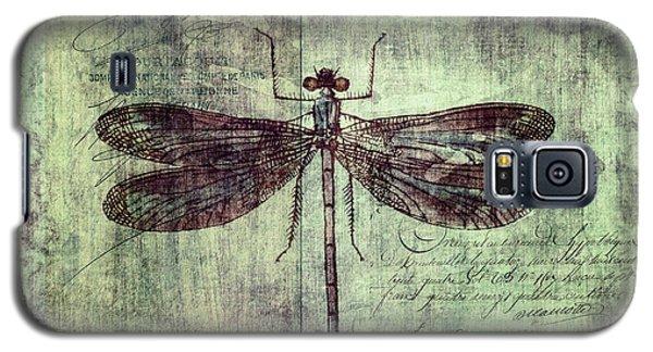 Dragonfly Galaxy S5 Case by Priska Wettstein