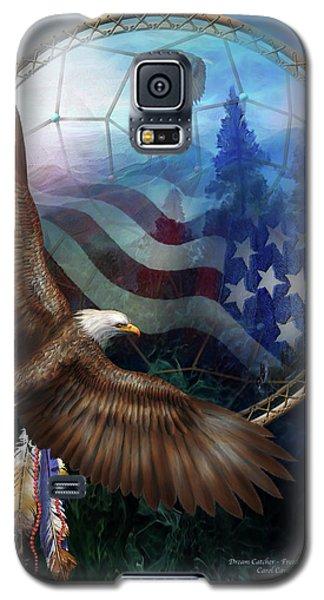Dream Catcher - Freedom's Flight Galaxy S5 Case by Carol Cavalaris