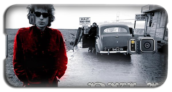 Bob Dylan Galaxy S5 Case by Marvin Blaine