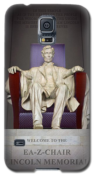 Ea-z-chair Lincoln Memorial 2 Galaxy S5 Case by Mike McGlothlen