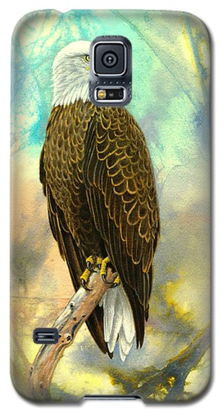 Eagle In Abstract Galaxy S5 Case by Paul Krapf