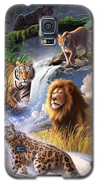 Earth Day 2013 Poster Galaxy S5 Case by Jerry LoFaro