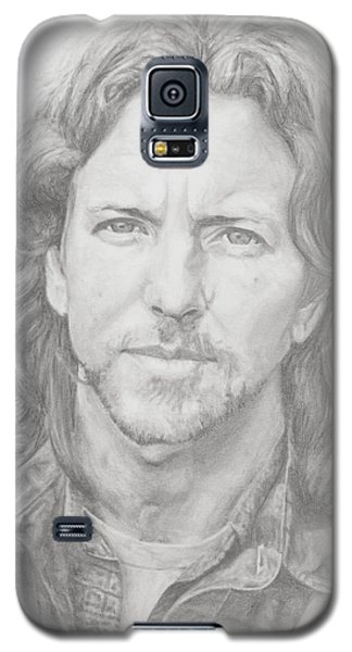 Eddie Vedder Galaxy S5 Case by Olivia Schiermeyer