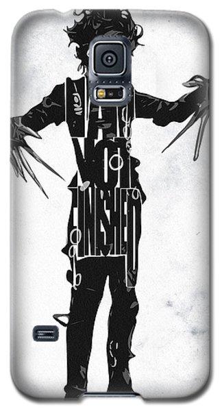 Edward Scissorhands - Johnny Depp Galaxy S5 Case by Ayse Deniz