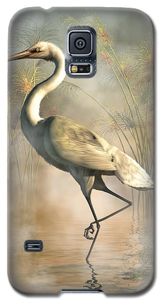 Egret Galaxy S5 Case by Daniel Eskridge