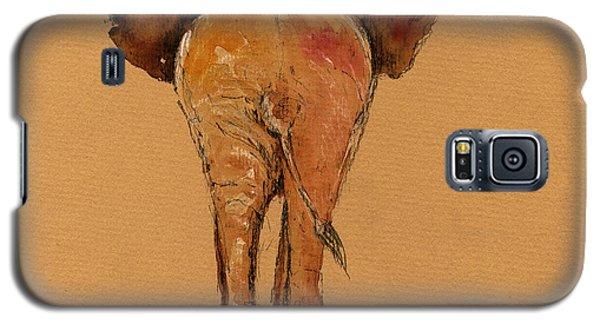 Elephant Back Galaxy S5 Case by Juan  Bosco